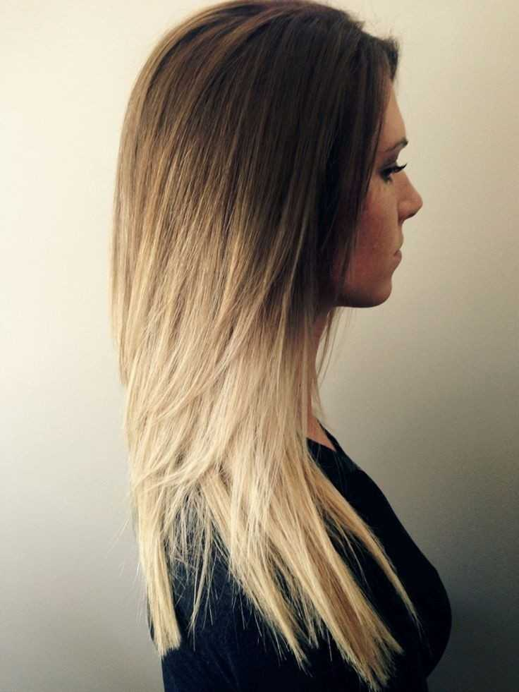 Süss-Lang-Gerade-Haar-Ombre-Frisur