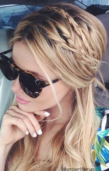 Niedliche Frisuren für langes Haar-Baby-Zöpfe