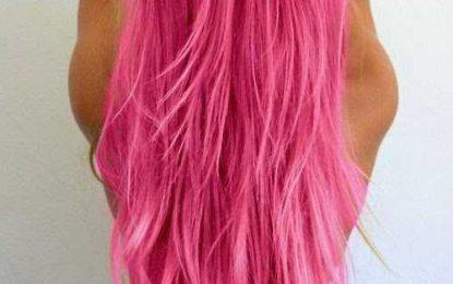 Wir Lieben Rosa Haare!