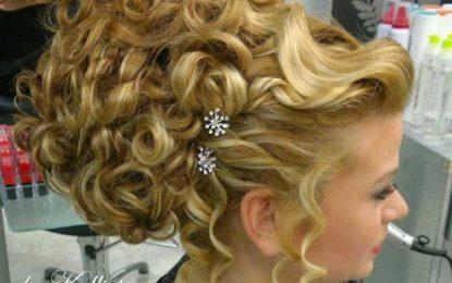 Wunderschöne Griechische Frisur!
