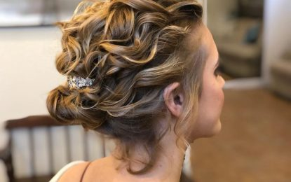 Die 19 süßesten Hochsteckfrisuren für kurzes Haar