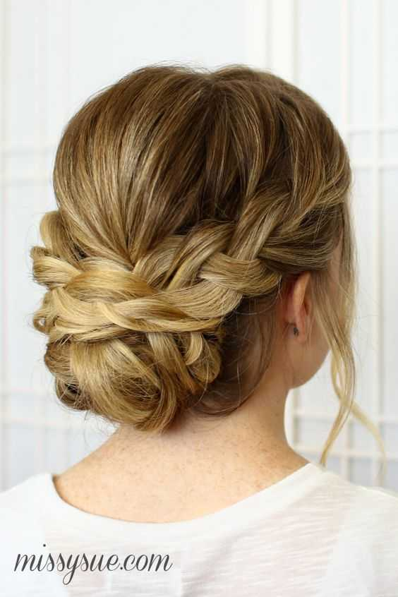 Hochsteckfrisuren fur kinnlanges haar